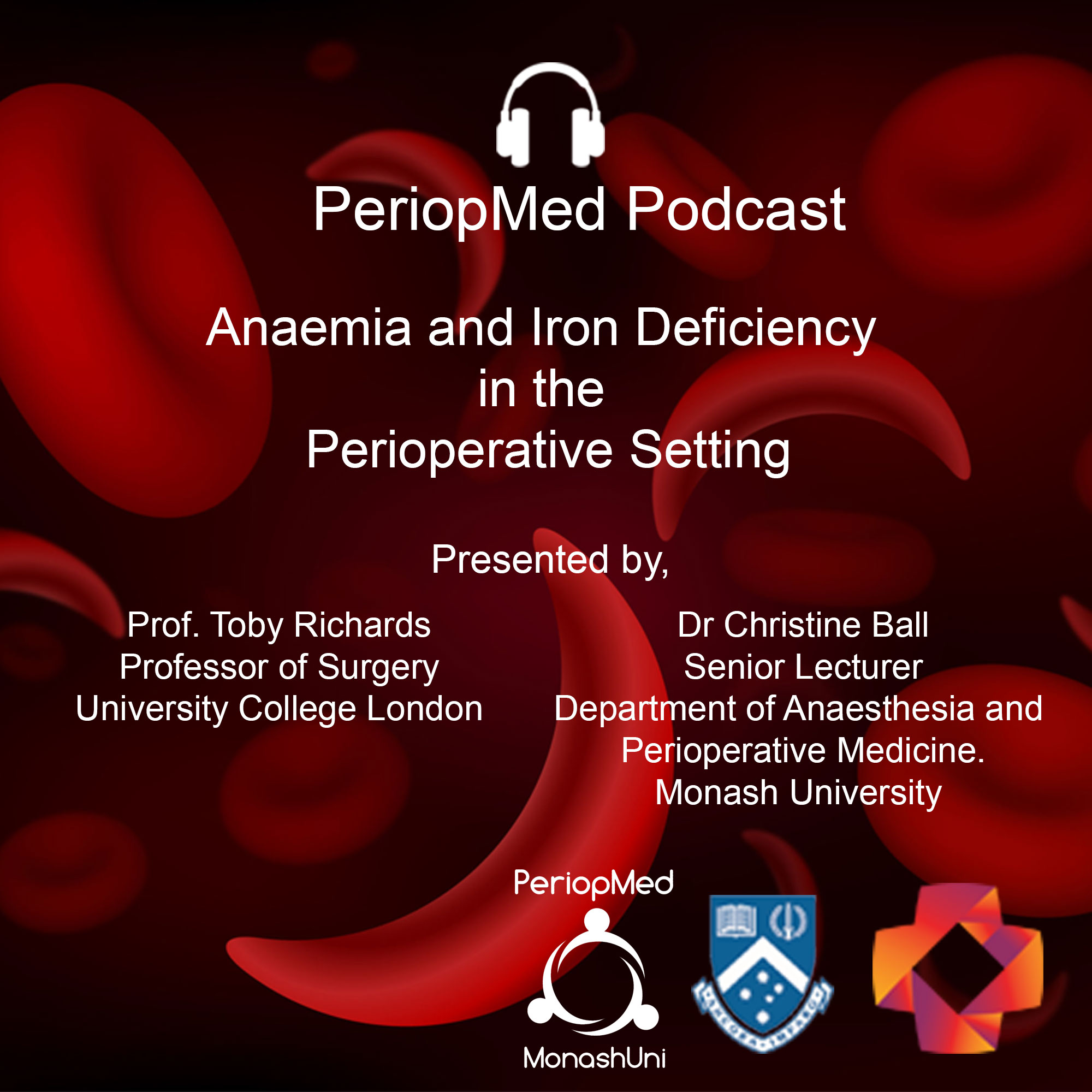 Anaemia and Iron Deficiency in the Perioperative Setting - Podcast