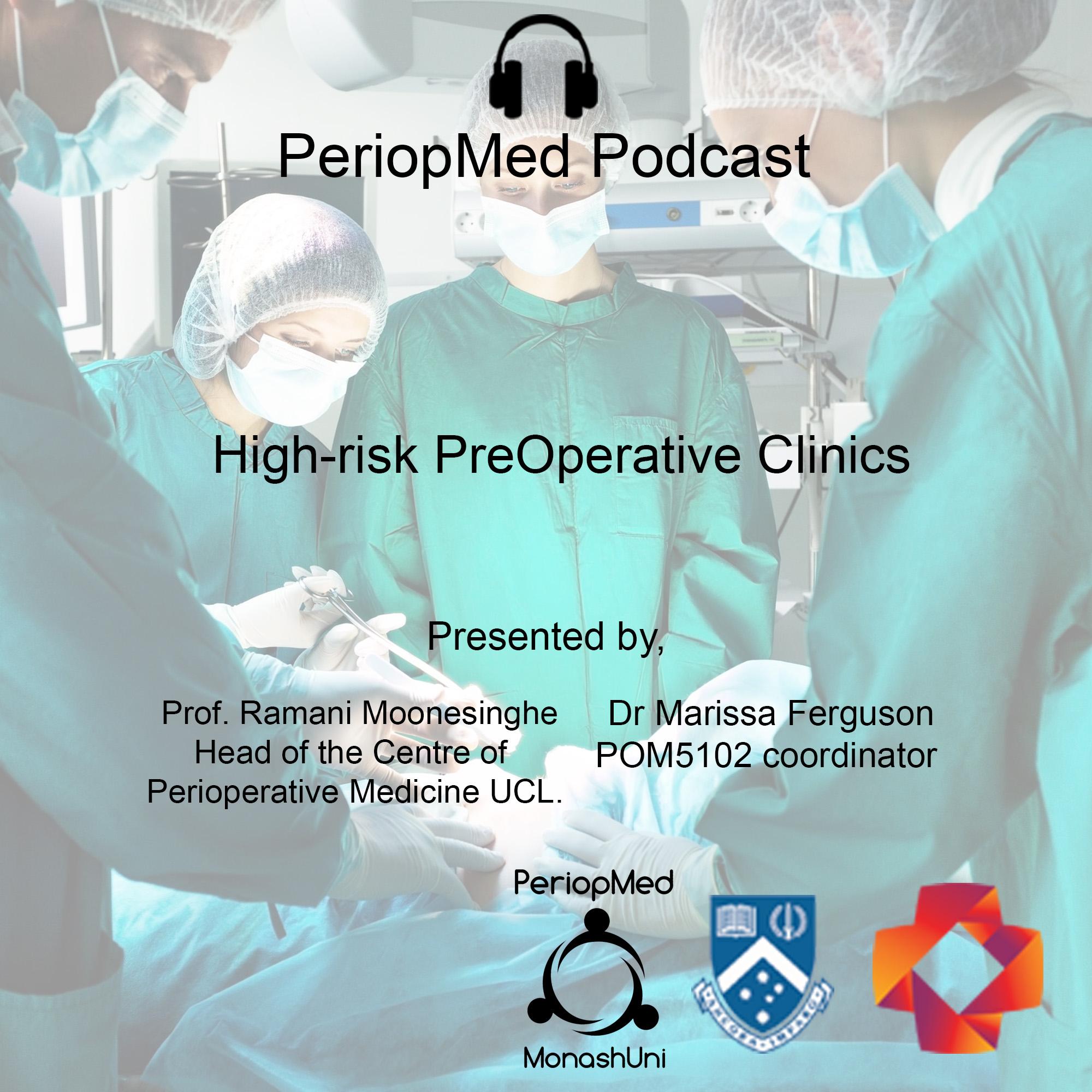 High-risk PreOperative Clinics
